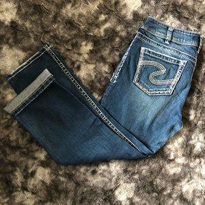 Silver Jeans Suki Capri